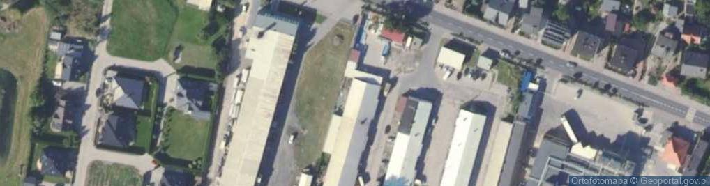 Zdjęcie satelitarne Wrocławska 9