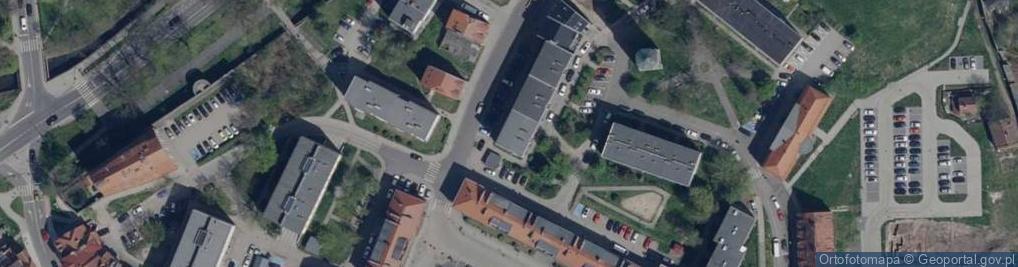 Zdjęcie satelitarne Wrocławska 2