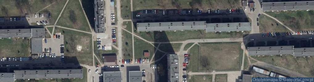 Zdjęcie satelitarne Wróblewskiego Walerego 7