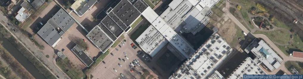 Zdjęcie satelitarne Wybrzeże Armii Krajowej ul.