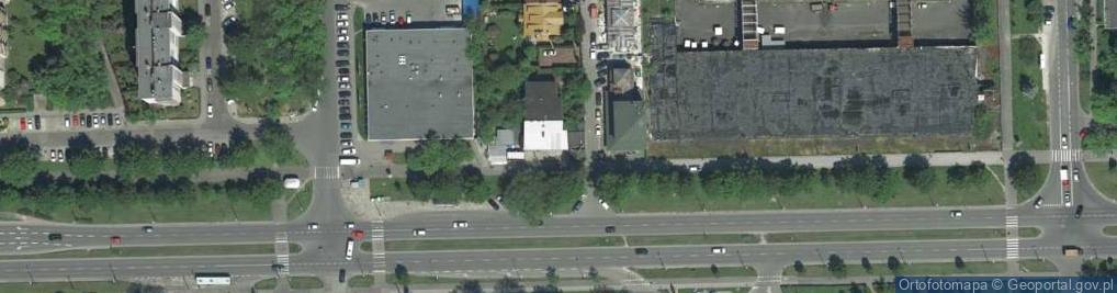 Zdjęcie satelitarne Wybickiego Józefa, gen. 8