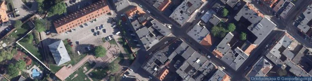 Zdjęcie satelitarne Wysoka ul.