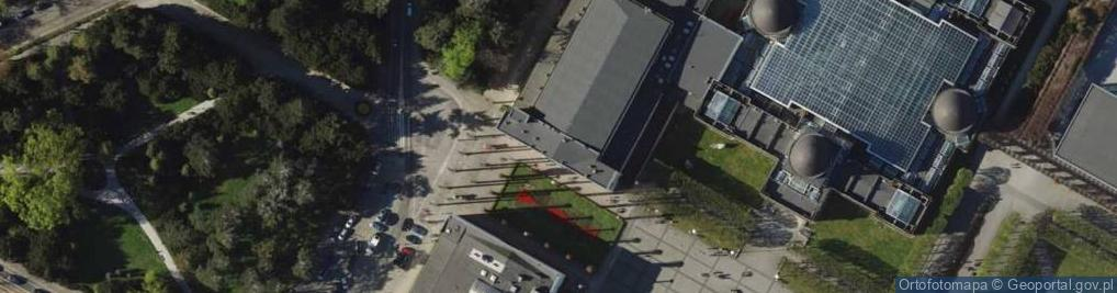 Zdjęcie satelitarne Wystawowa 1