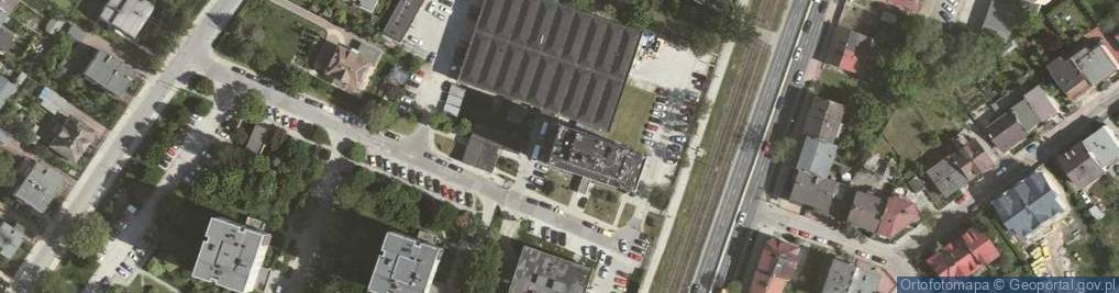 Zdjęcie satelitarne Zakopiańska 9