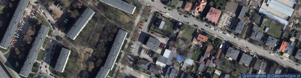 Zdjęcie satelitarne Zaolziańska 52a
