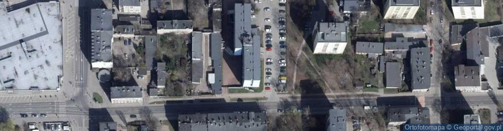 Zdjęcie satelitarne Zawiszy Czarnego 10