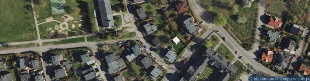 Zdjęcie satelitarne Zamoyskiego Władysława ul.