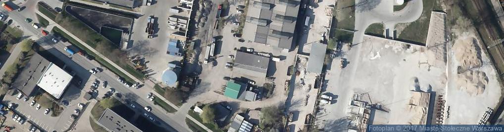 Zdjęcie satelitarne Zawodzie ul.