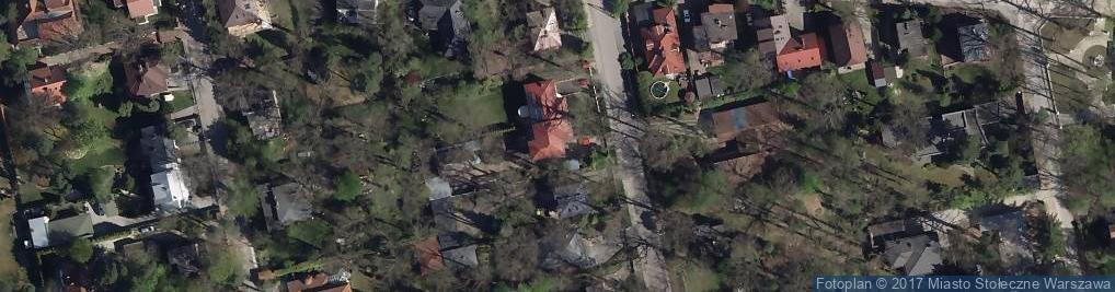 Zdjęcie satelitarne Zalipie ul.