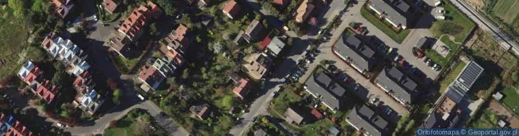 Zdjęcie satelitarne Zagrodnicza 16