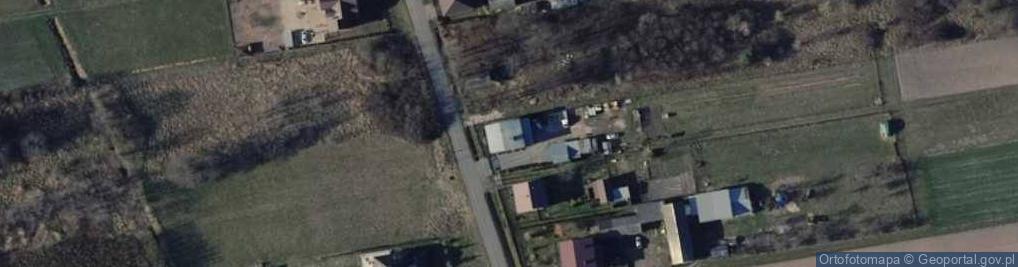 Zdjęcie satelitarne Zadębie ul.