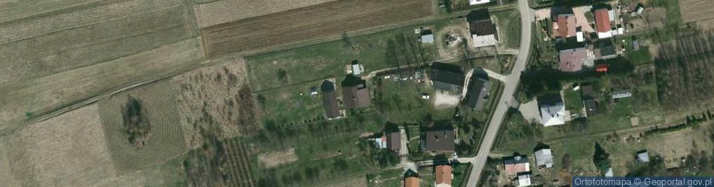 Zdjęcie satelitarne Żarnowiec ul.