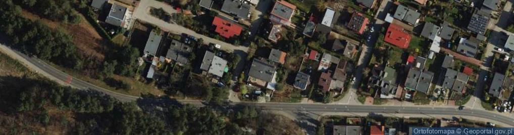 Zdjęcie satelitarne Zdroje ul.