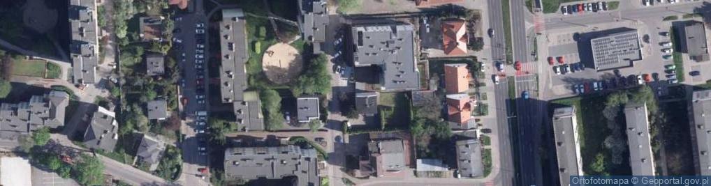 Zdjęcie satelitarne Żelazna 8