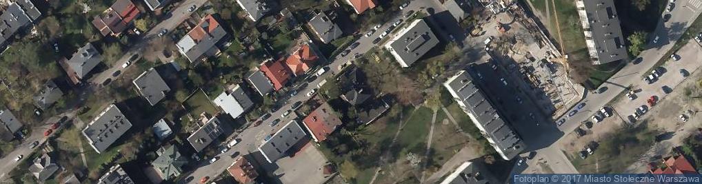 Zdjęcie satelitarne Zgierska 18B