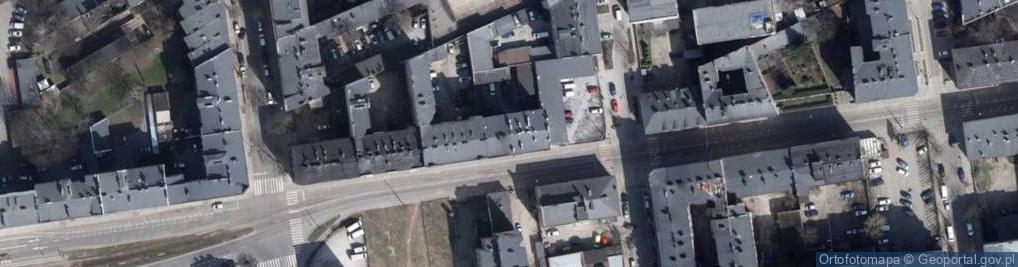 Zdjęcie satelitarne Zielona 53