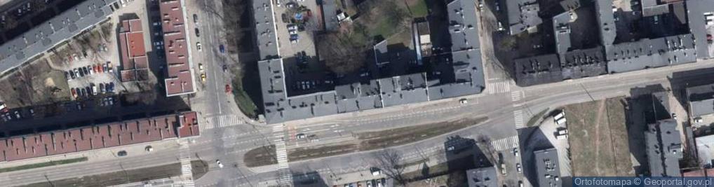 Zdjęcie satelitarne Zielona 65
