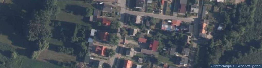 Zdjęcie satelitarne Złotowska 36