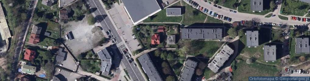 Zdjęcie satelitarne Żywiecka 117