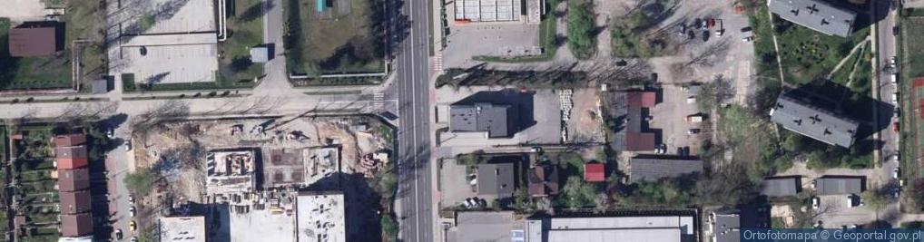 Zdjęcie satelitarne Żywiecka 71