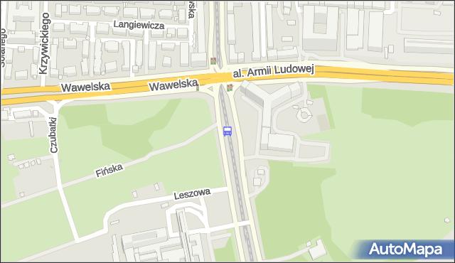 Przystanek GUS 03. ZTM Warszawa - Warszawa na mapie Targeo
