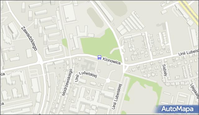Przystanek Unii Lubelskiej Szpital 11. ZDiTM Szczecin - Szczecin na mapie Targeo