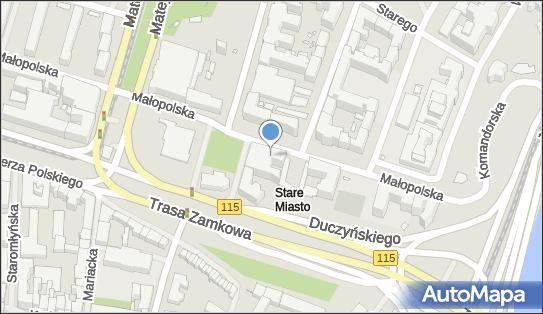 ABW Delegatura, Szczecin, Małopolska 15  - Agencja Bezpieczeństwa Wewnętrznego
