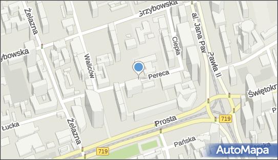 Ulica Pereca, Warszawa, ul. Pereca