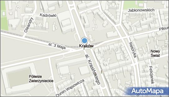 Ulica Piłsudskiego, od 31-109 do 31-111 Kraków, ul. Piłsudskiego  - Atrakcja turystyczna