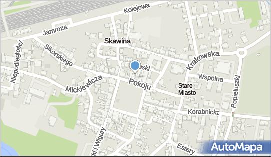 Bank Spółdzielczy w Skawinie,  Skawina, Rynek 19  - Bank BPS - Bankomat