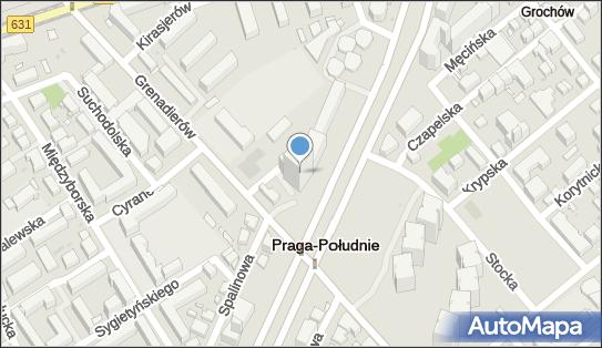 Blue Point, Warszawa, al. Stanów Zjednoczonych 61A - Biurowiec