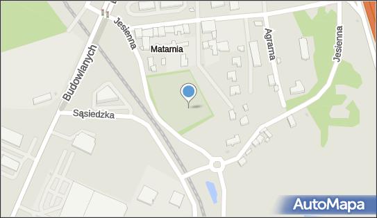 Cmentarz, Gdańsk-Matarnia, ul.Jesienna  - Cmentarz