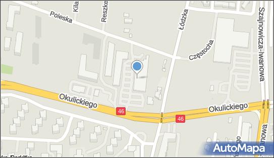 Kaufland, 42-218 Częstochowa, ul. Okulickiego 50  - Kaufland - Supermarket