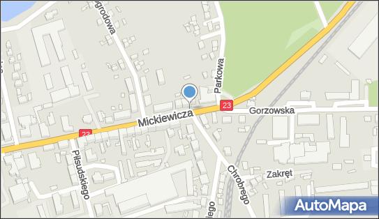 Monitoring miejski, 74-400 Dębno, Mickiewicza Adama23  - Monitoring miejski