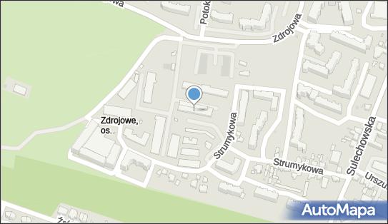 Wojskowe Biuro Emerytalne, Zielona Góra, Strumykowa 13  - Obiekt wojskowy
