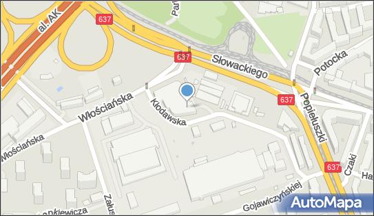 Metro Marymont, 01-710 Warszawa, Włościańska  - P+R - Parking