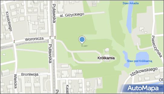 Park Królikarnia, 02-508, 02-512, 02-515, 02-559, 02-566, 02-592, 02-595, 02-603, 02-620, 02-624, 02-670, 02-684, 02-707, 02-715, 02-740, 02-769 Warszawa - Park, Ogród