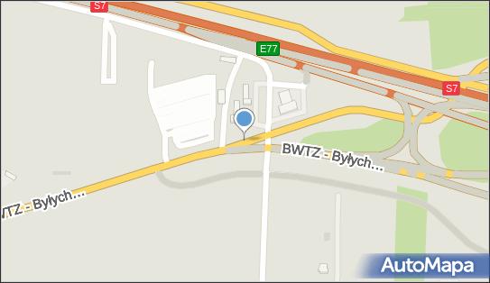 Parking lotnisko modlin, Zakroczym - Płatny-strzeżony - Parking
