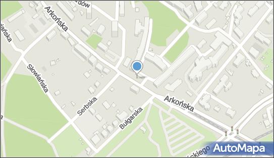 Arkońska szpital, Szczecin, ul. Arkońska