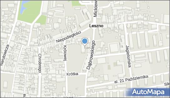 Sąd Rejonowy, Leszno, Dąbrowskiego Jarosława 2  - Sąd