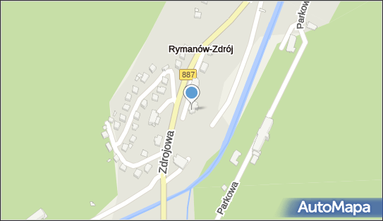 Sanatorium Rymanów - wilia Opatrzność, Rymanów Zdrój