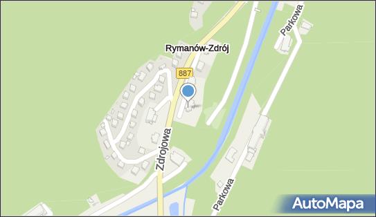 Sanatorium Rymanów - wilia Opatrzność, 38-481 Rymanów-Zdrój - Sanatorium