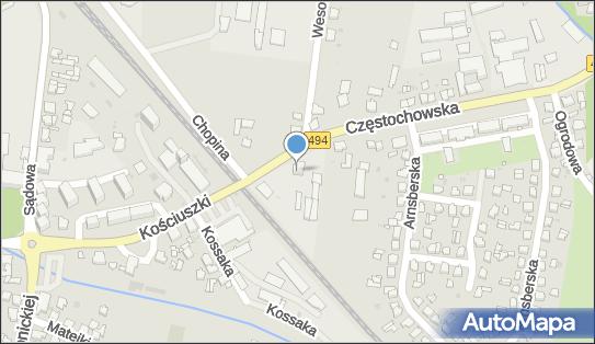 Baag, Olesno, Częstochowska 1  - Stacja Kontroli Pojazdów