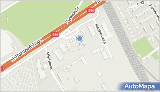Lambda,  Katowice, Aleja Walentego Roździeńskiego 210  - Stacja Kontroli Pojazdów