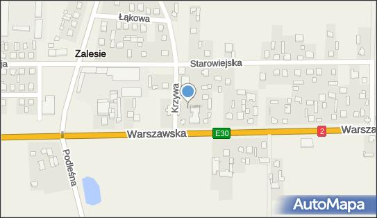 Urząd Gminy, 21-512 Zalesie, Warszawska 34  - Urząd Gminy