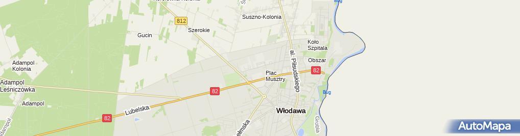 Zdjęcie satelitarne Zakład Karny
