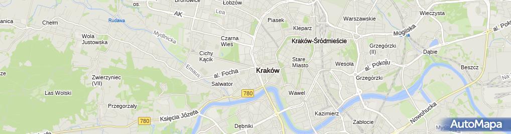 Zdjęcie satelitarne Ulica Piłsudskiego