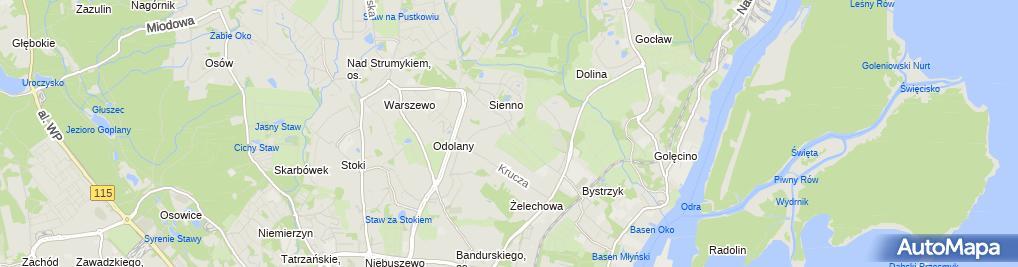 Zdjęcie satelitarne Auto Świst
