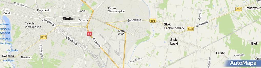 Zdjęcie satelitarne Przemcar
