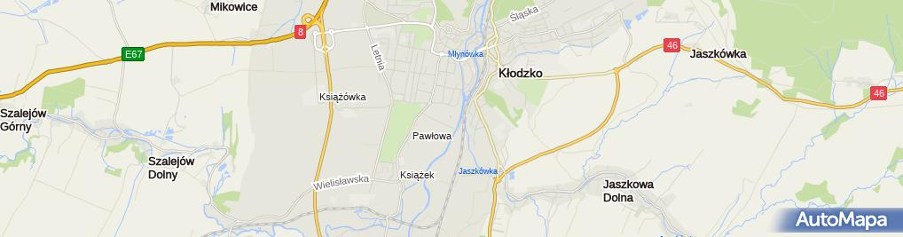 Zdjęcie satelitarne Ośrodek Sportu i Rekreacji
